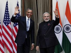 Обама и Моди