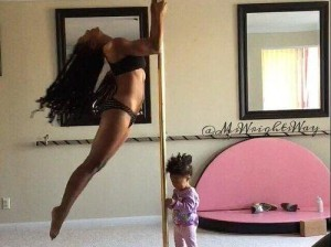 Pole Dancing while Parenting - Ms Wrights Way