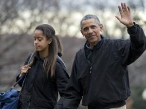 фото дочери Обамы
