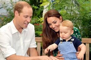 Герцогиня Кэтрин и принц Уилльям