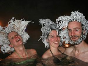 замораживание волос