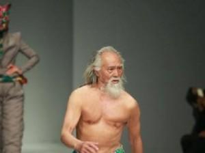 79-летний дедушка-модель