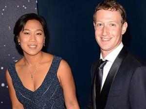 Марк Цукерберг и его жена