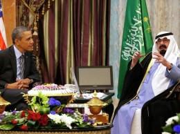 Президент США и Король Саудовской Аравии