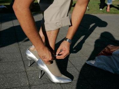 на каблуках