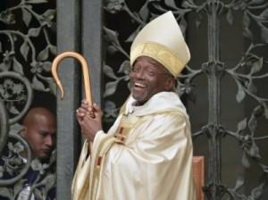 темнокожий священник