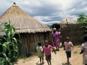 дети в Африке