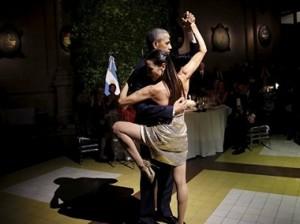 Обама станцевал танго