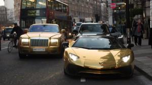 золотые авто
