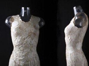 платье из грибницы