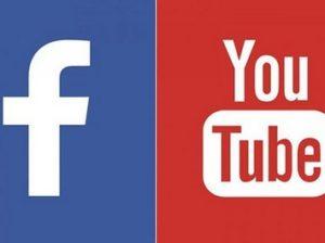 Facebook и YouTube