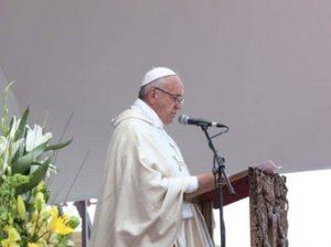 Франциск в Гюмри