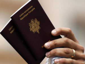 French passports
