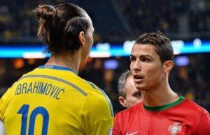 Ибрагимович и Роналдо