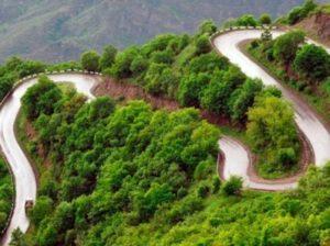 Серпантин в Армении
