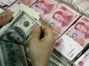 китай-юань-доллары