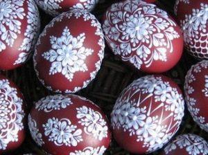 Пасха яйца