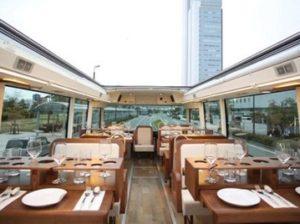 ресторан в автобусе