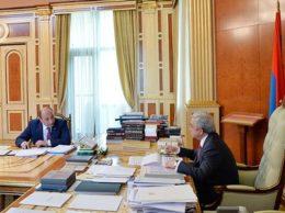 Караян и Саргсян