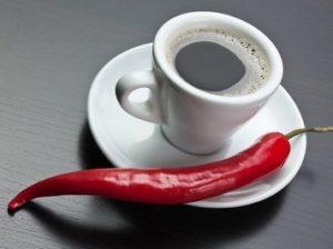 кофе и перец