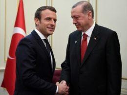 Макрон с Эрдоганом