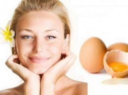 маска из яиц