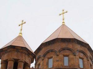 Кресты армянской церкви