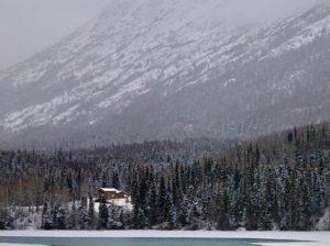 на Аляске