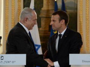 Нетаньяху и Макрон