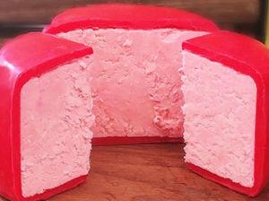 Розовый сыр