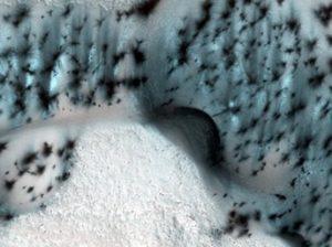 зима Марс