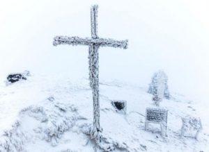 Крест на Арагаце