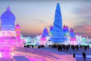 фестиваль льда и снега