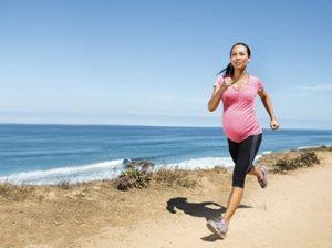 Бег беременной