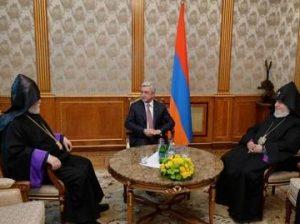 Католикосы и Саргсян
