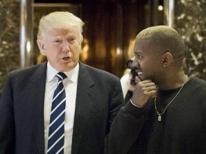 Трамп и Уэст