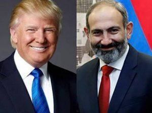 Трамп и Пашинян