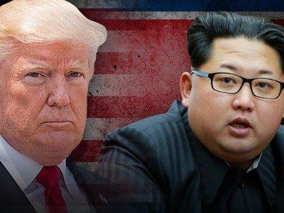 Трамп и Ын