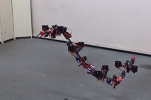 дрон-гусеница