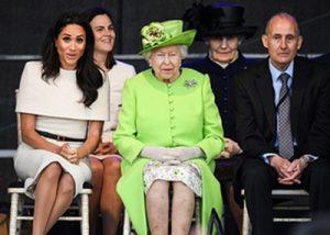 Меган Маркл и королева