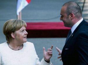 Меркель в Грузии