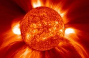 На Солнце
