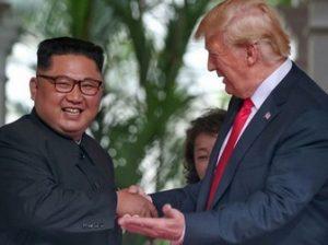 Ын и Трамп