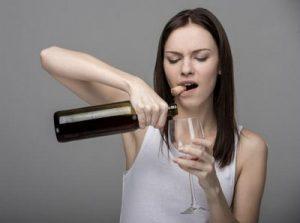 wine-woman