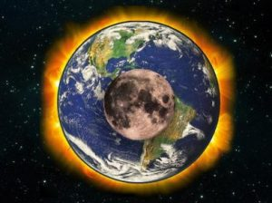 Солнце земля луна