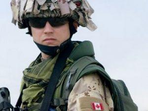 канадский солдат
