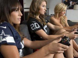 Девочки-геймеры