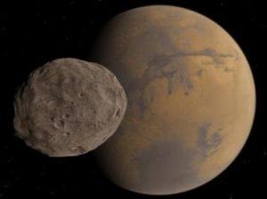 марсианская луна