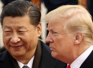 Трамп и Си Цзиньпин