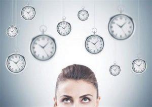 woman clocks